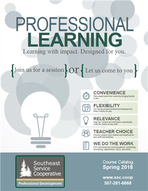 Spring 2018 Professional Learning Catalog