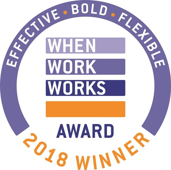 "SSC Wins National 2018 ""When Work Works"" Award"