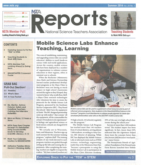 NSTA Article
